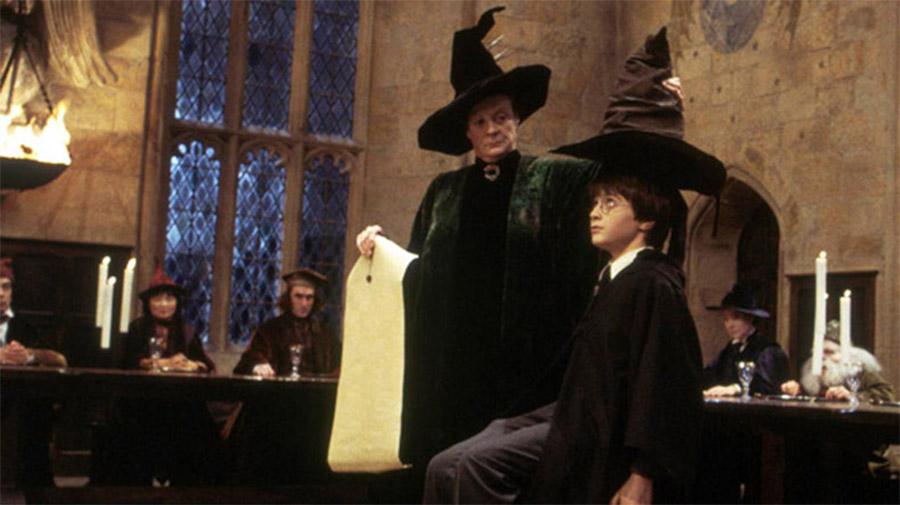 Harry Potter Sorting Ceremony