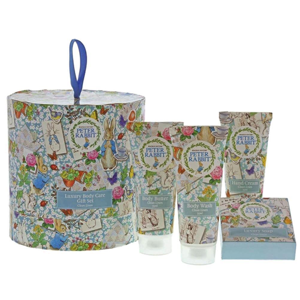 Peter Rabbit Beatrix Potter Luxury Body Care Gift Set