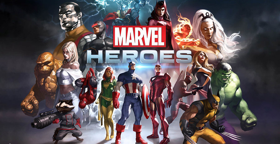 Collection of Marvel Superheroes
