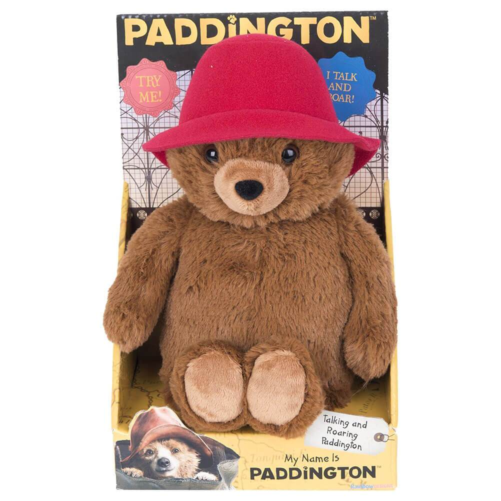 Roaring and Talking Paddington Bear Plush