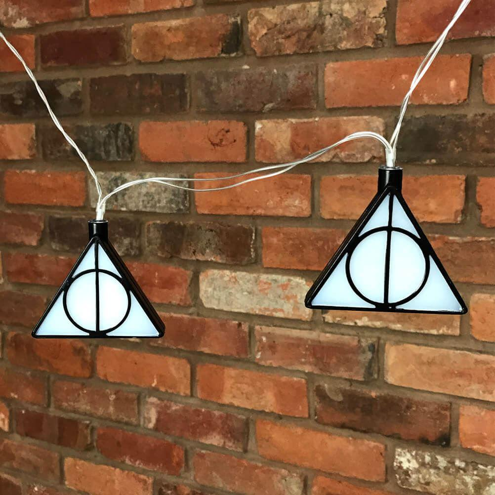 Harry Potter Deathly Hallows String Lights