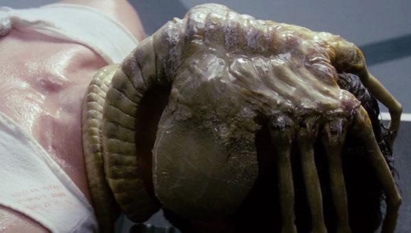 The Facehugger Scene from the Alien 1979 Film
