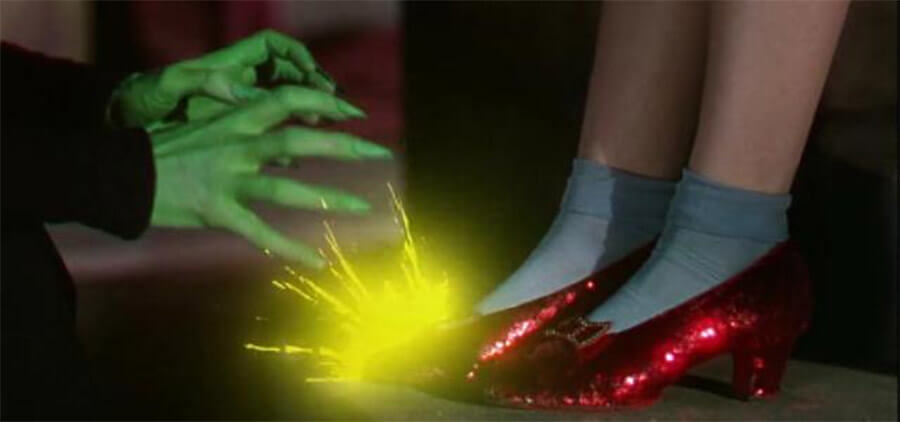 Dorothy's Ruby Red Slippers Spark