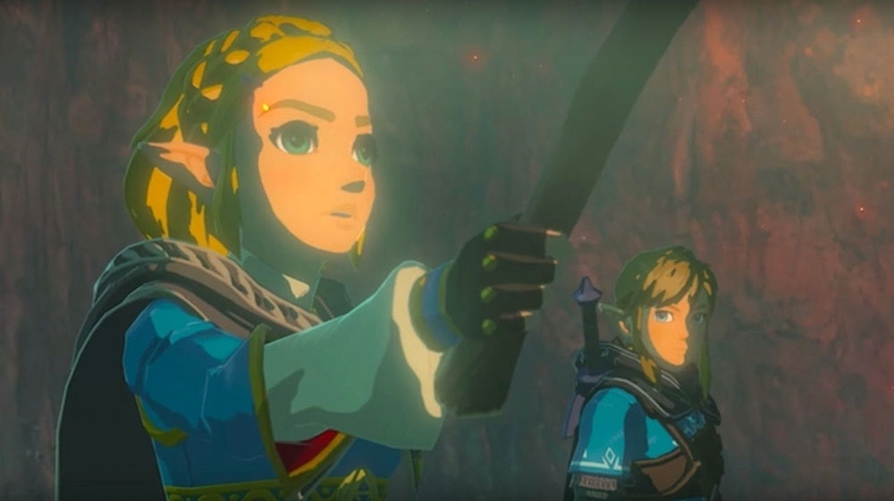 Scene from The Legend of Zelda: Breath of the Wild 2 Teaser Trailer