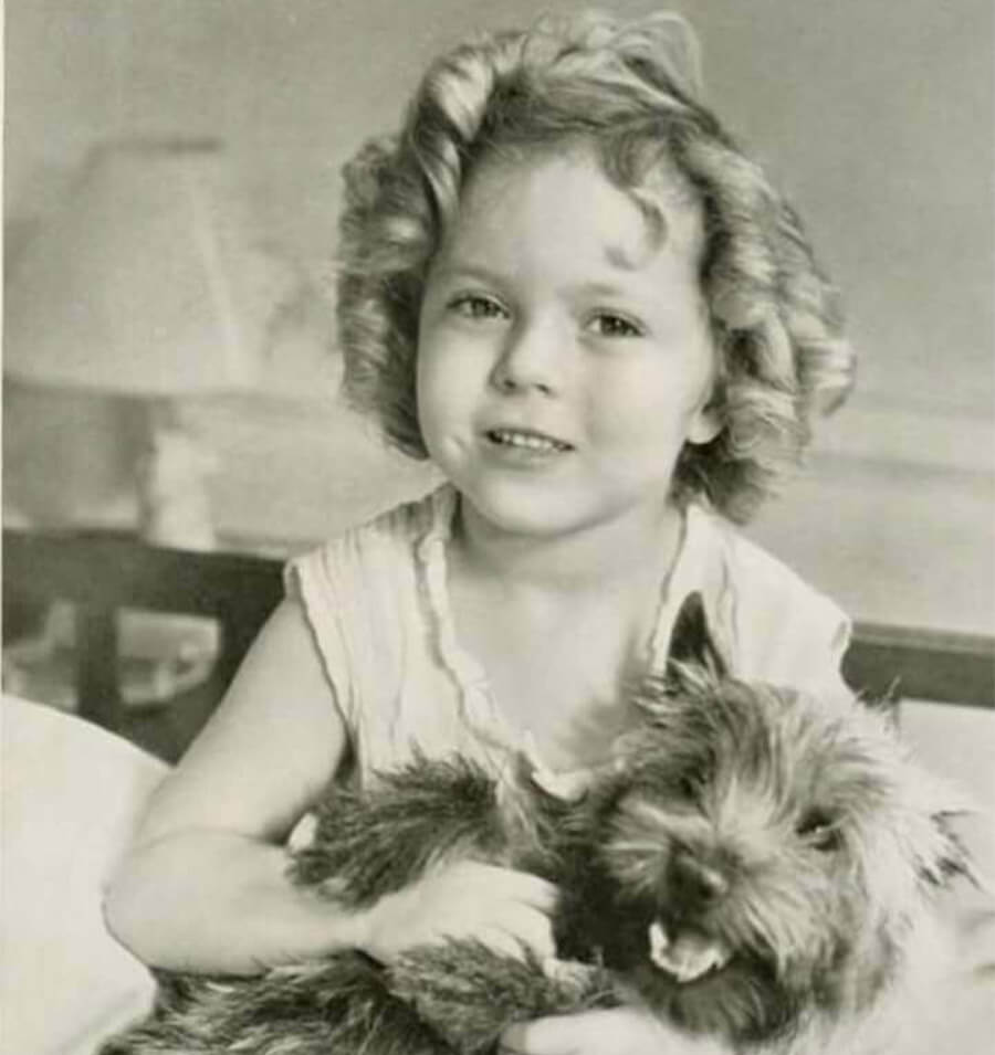 Shirley Temple with Toto