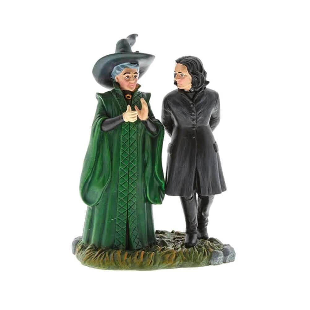 Harry Potter Professor Snape and Professor McGonagall Figurine