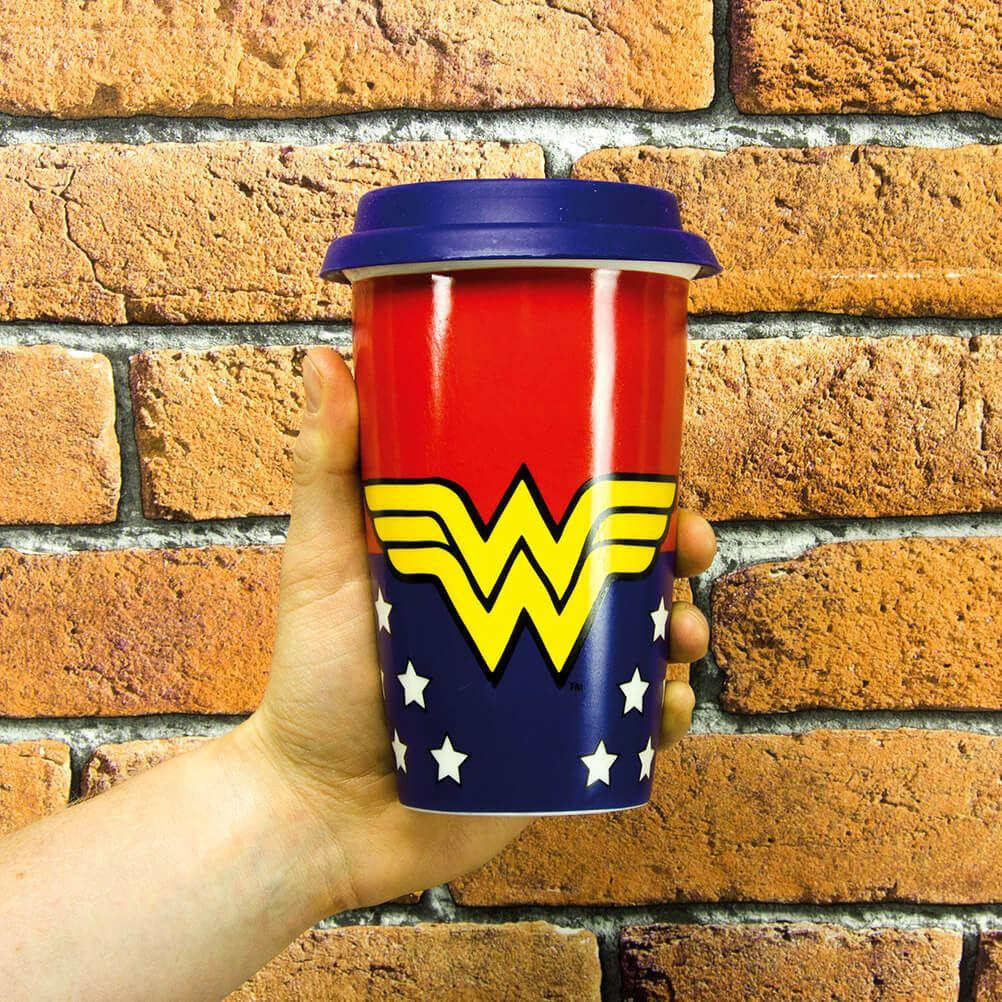 Officially Licensed Wonder Woman Travel Mug