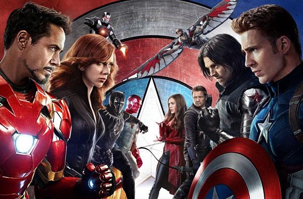 Marvel Superheroes Facing Off in Captain America Civil War