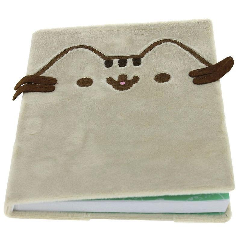 Officially licensed Pusheen Plush Notebook