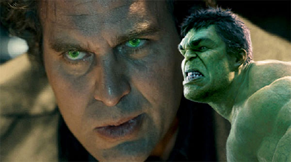 Bruce Banner and Hulk