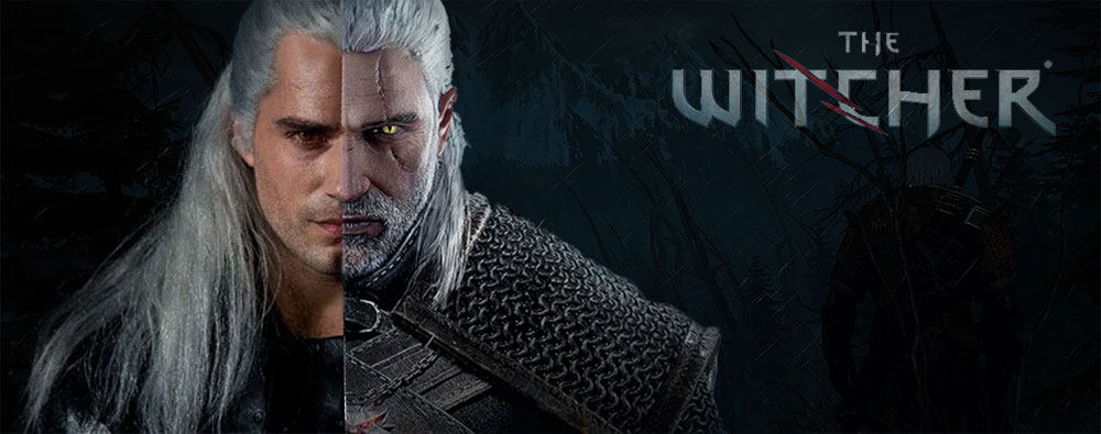 The Witcher Poster with Henry Caville/ Witcher Gaming Character