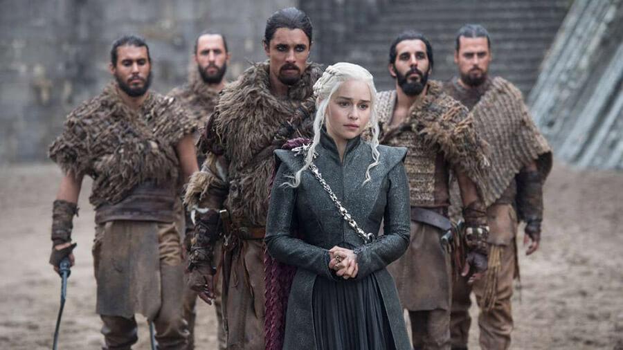 Daenerys Targaryen and the Dothraki