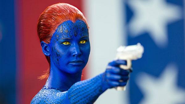 X-Men's Raven Pointing a Gun in Her Fight Against Prejudice