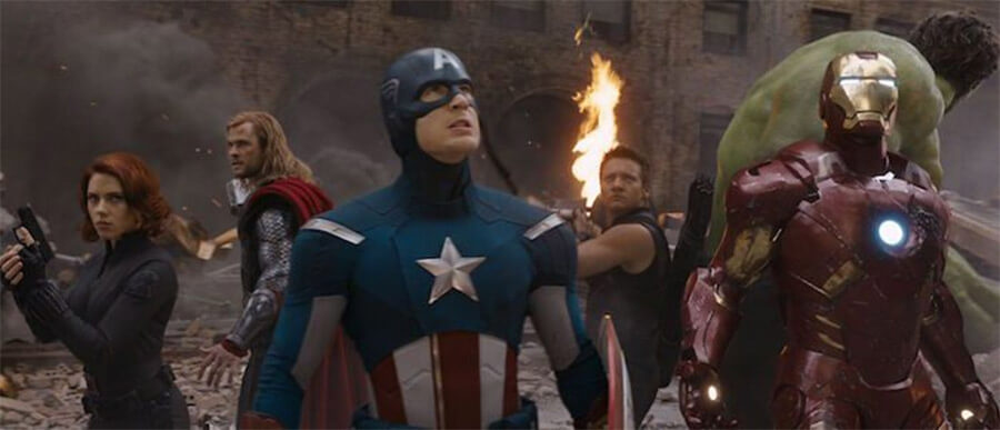 Avengers Circle Scene