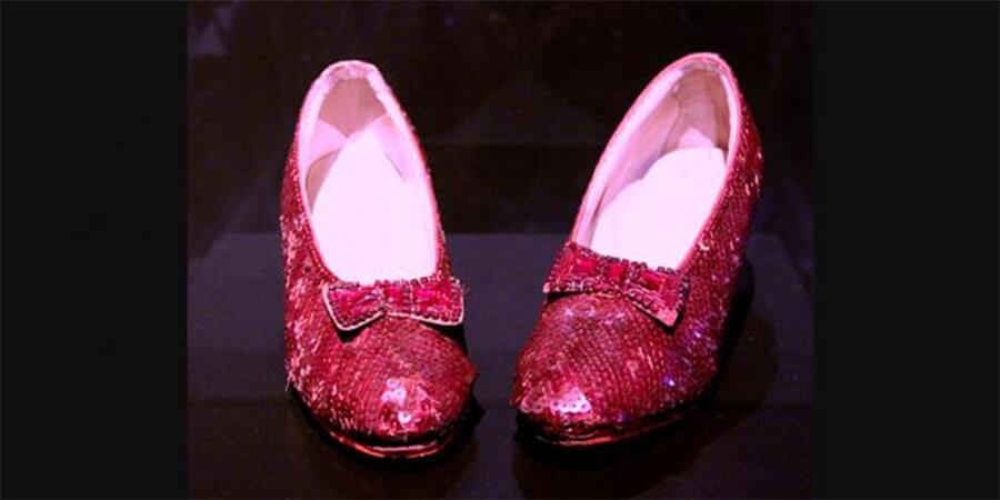 Wizard of Oz Dorothy Stolen Slippers