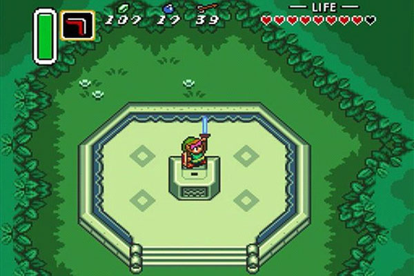 The Legend of Zelda: A Link to the Past Gameplay