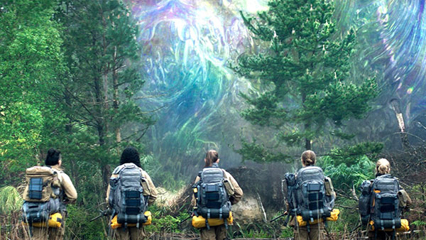 A Scene from the Beginning of the Annihilation 2018 Film