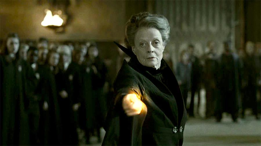 McGonagall Battles Snape