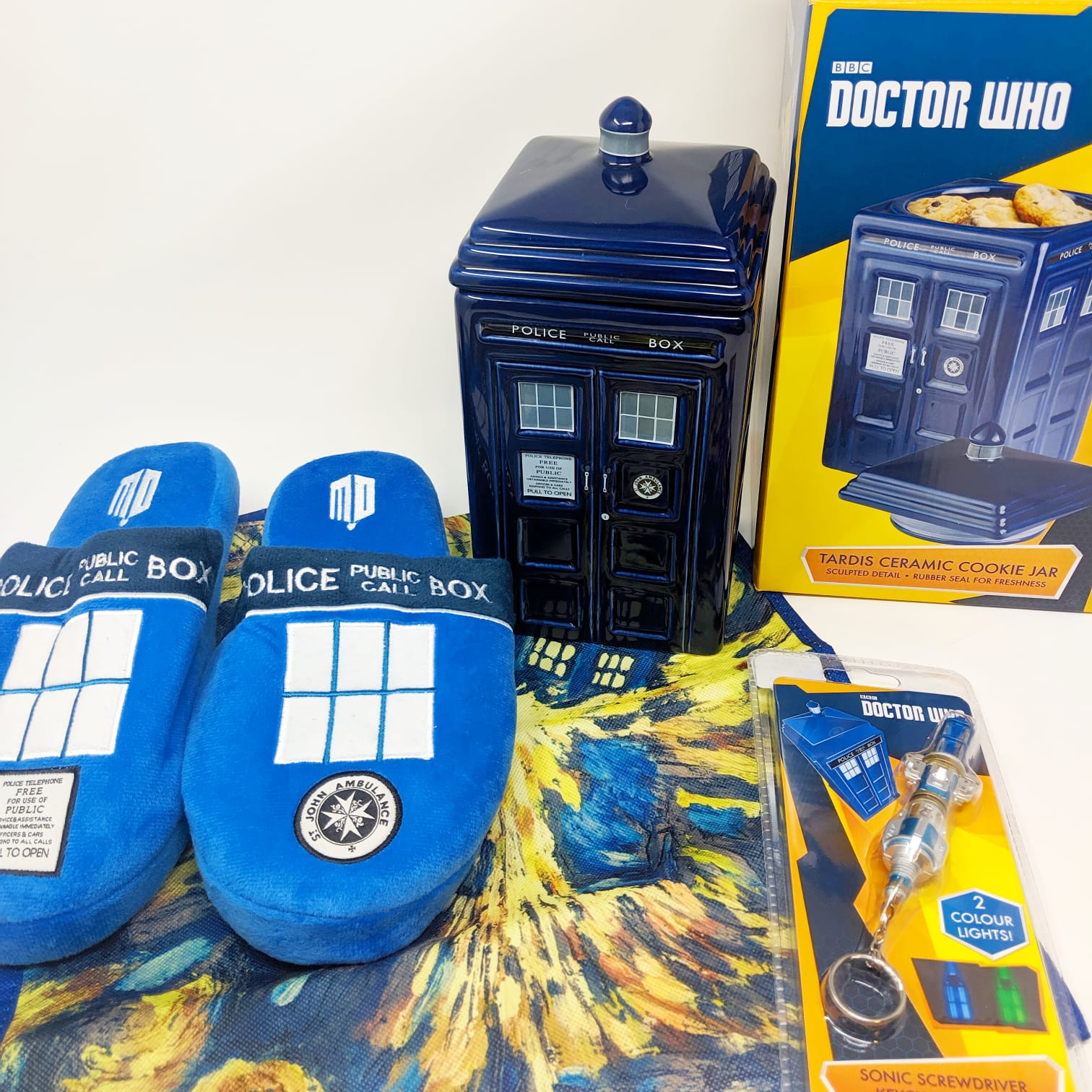 Doctor Who Gift Collection available at RetroStyler.com