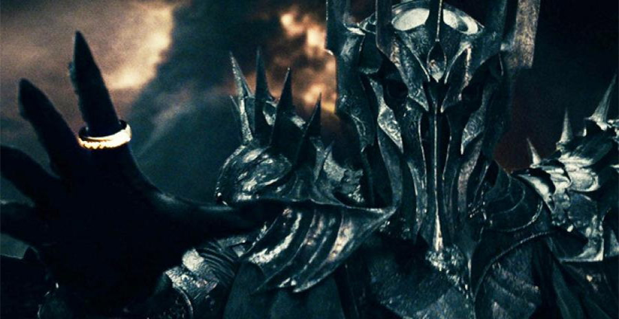 Sauron Wears the One Ring