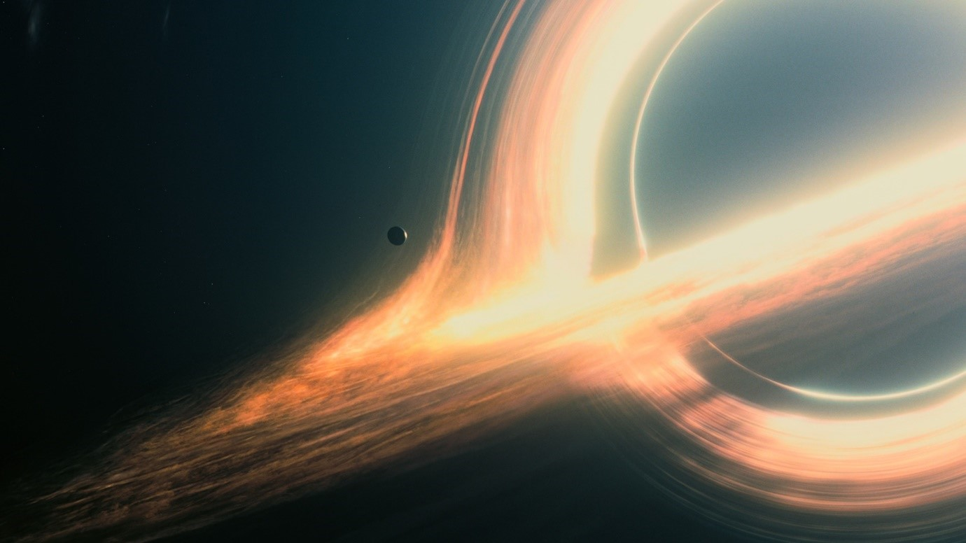 Imagery from the Interstellar Movie