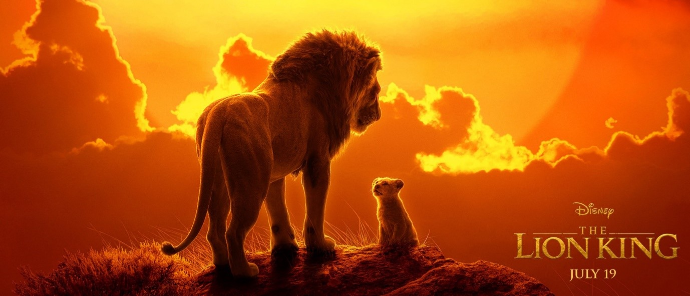 The Lion King Live-Action Movie - July 2019