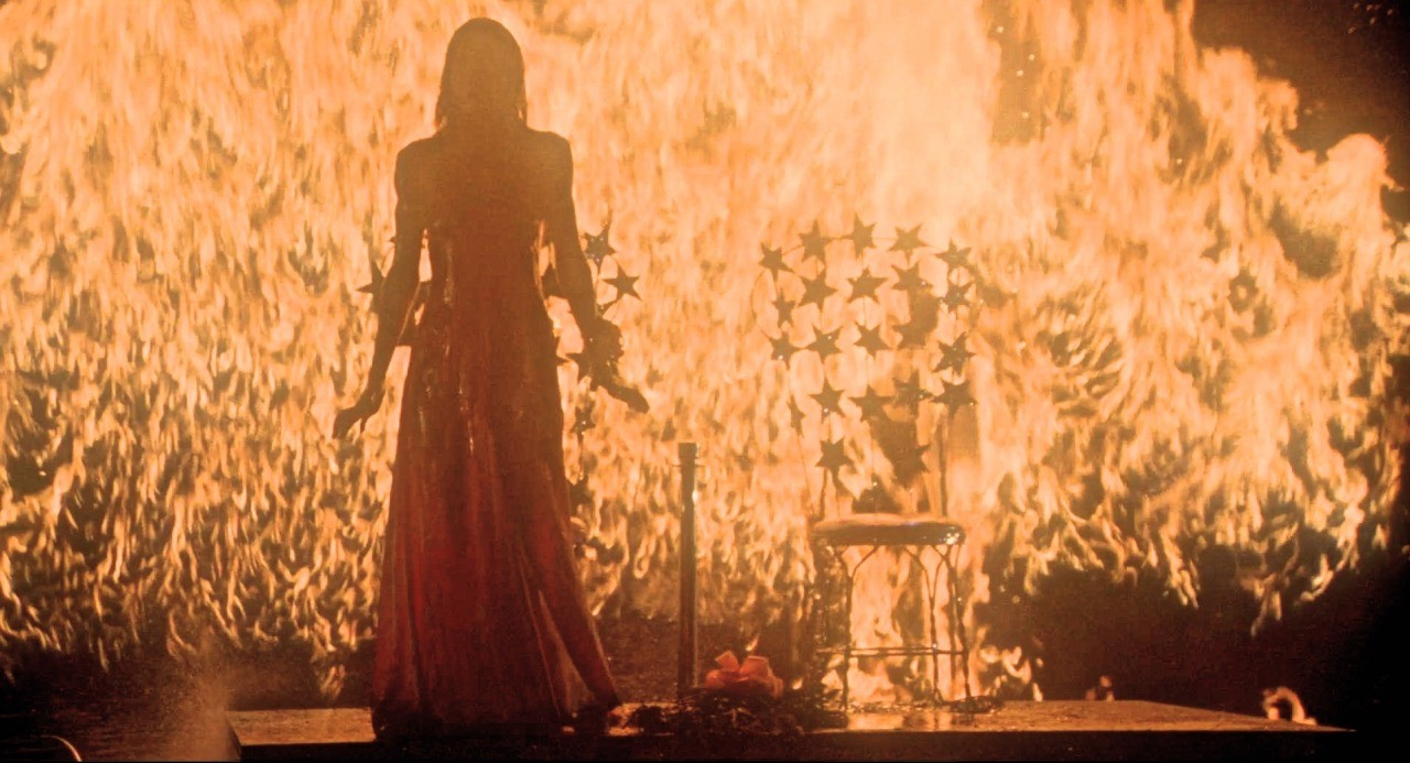 Scene from Carrie Movie