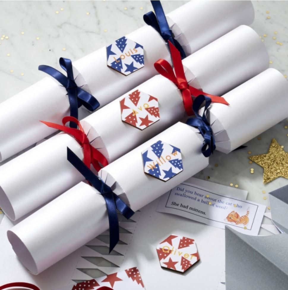 Personalised Christmas Crackers from Gifts Less Ordinary