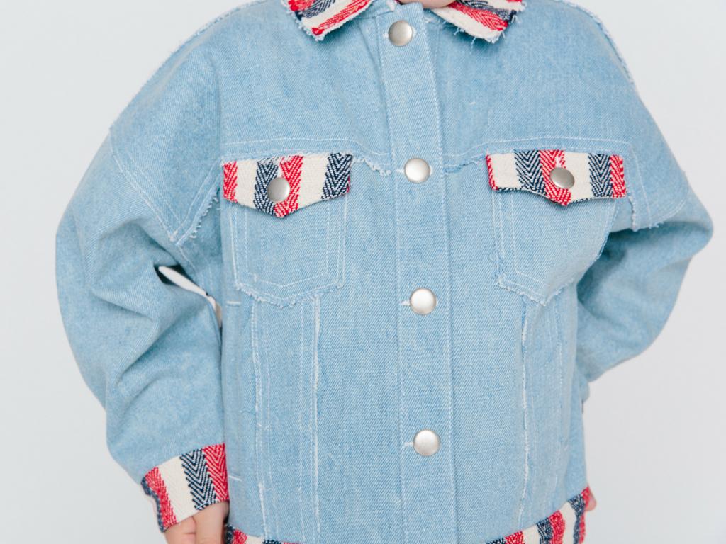 Oaks Of Acorn Denim Jacket