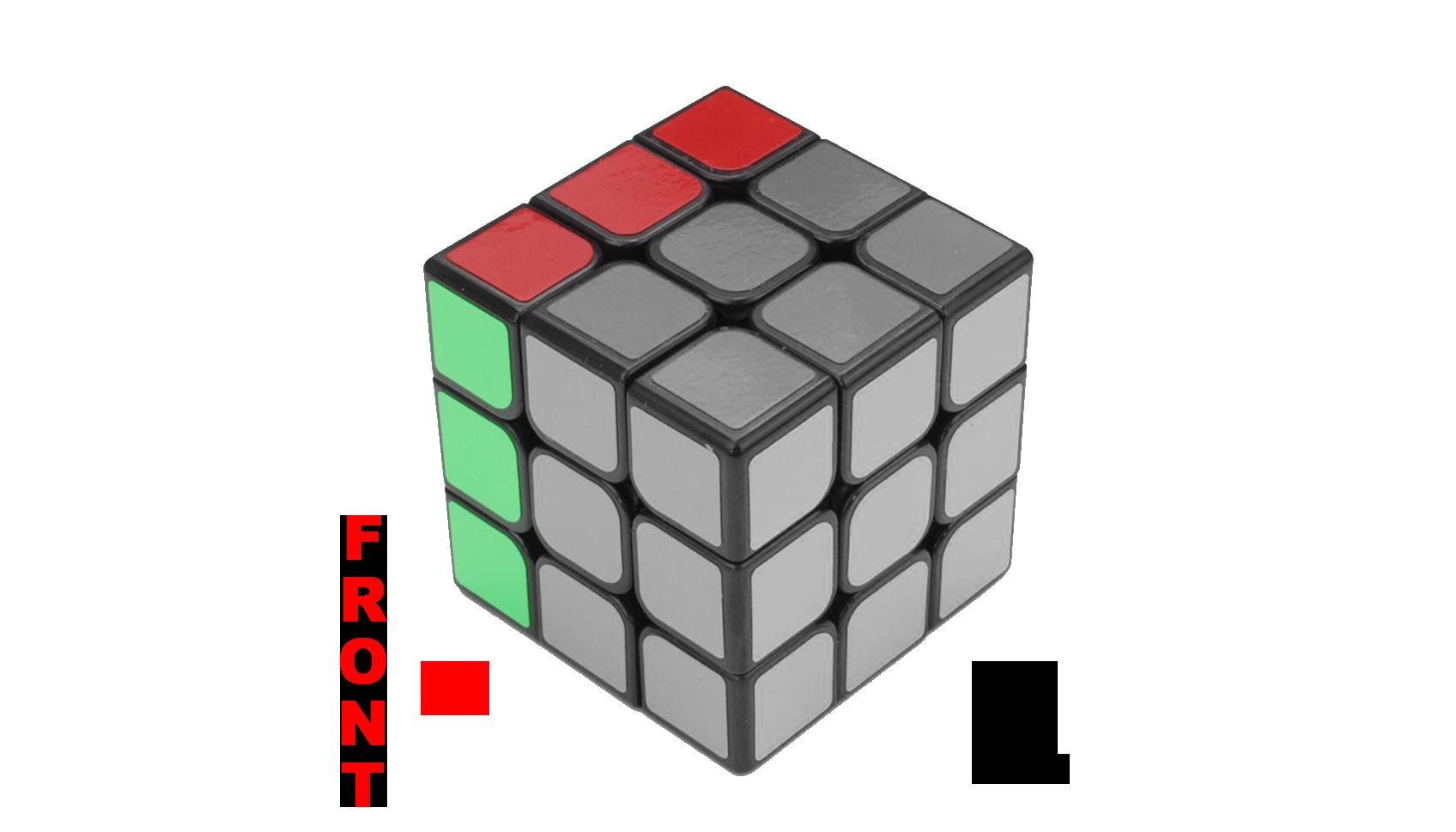 Rubik's Cube Notation - L and L' - KewbzUK Beginners Method Tutorial