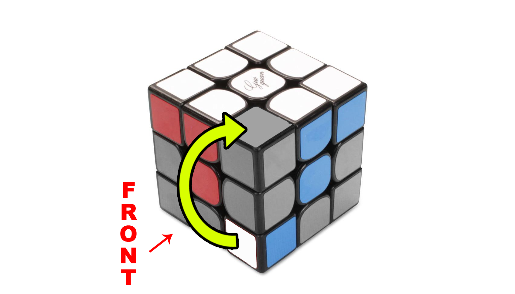 How to solve a Rubik's 3x3 - Step 2 - The Corners - Step 2a