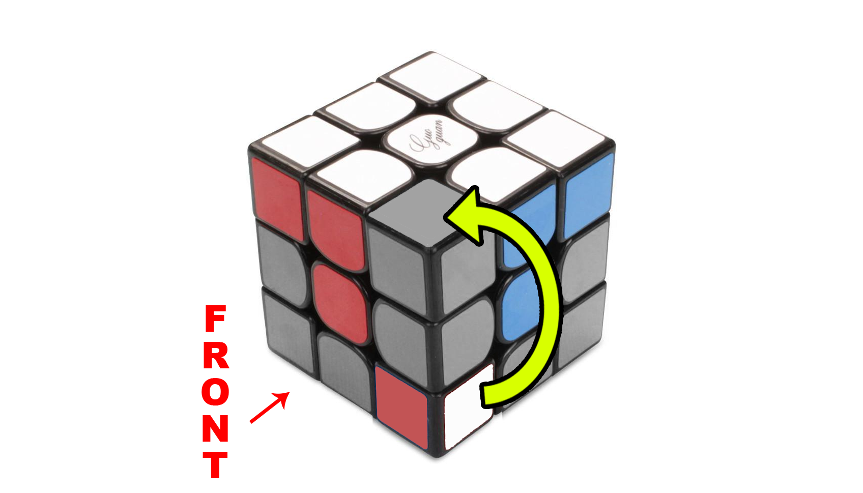 How to solve a Rubik's 3x3 - Step 2 - The Corners - Step 2b