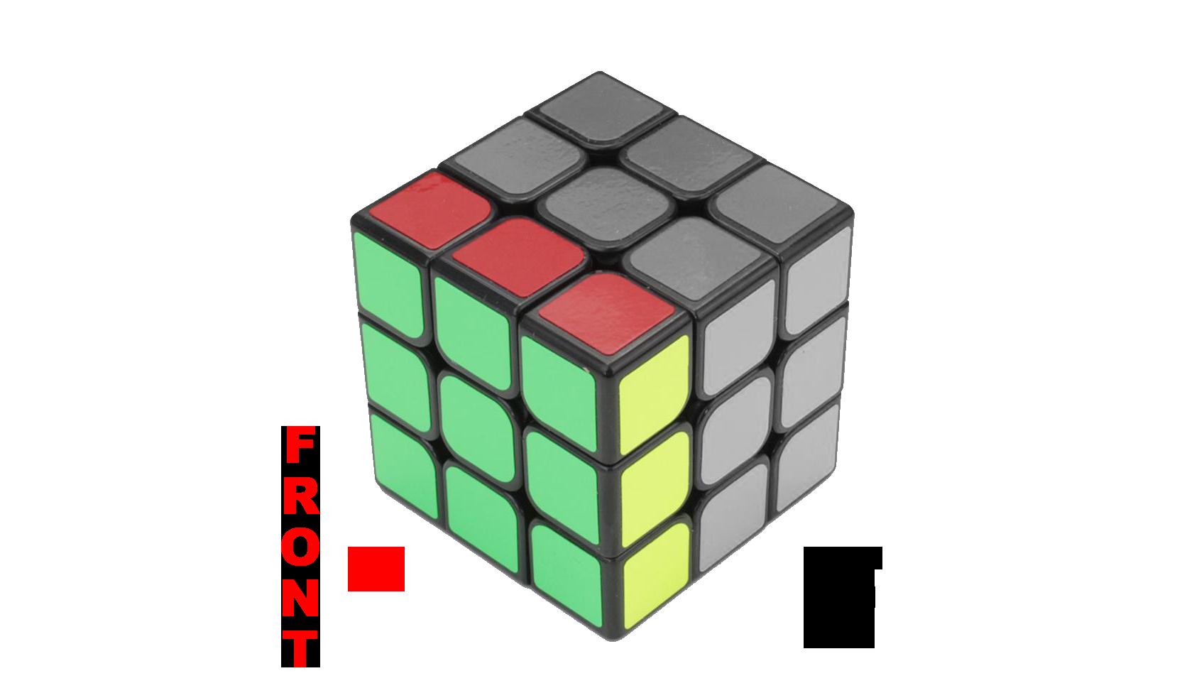 Rubik's Cube Notation - F and F' - KewbzUK Beginners Method Tutorial