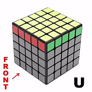 5x5 Cube Notation - Speed Cube Shop UK - KewbzUK
