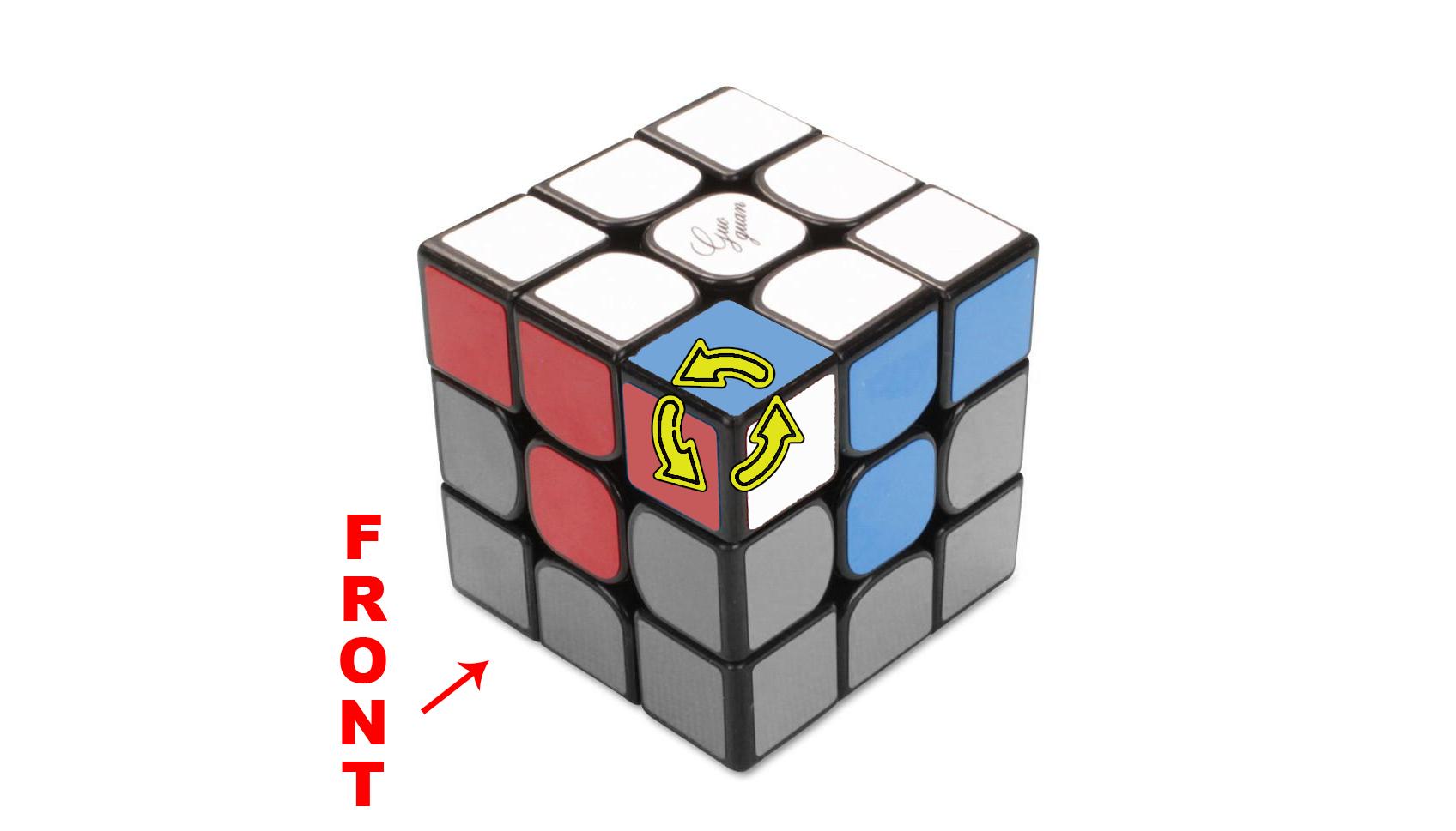 How to solve a Rubik's 3x3 - Step 2 - The Corners - Step 2e