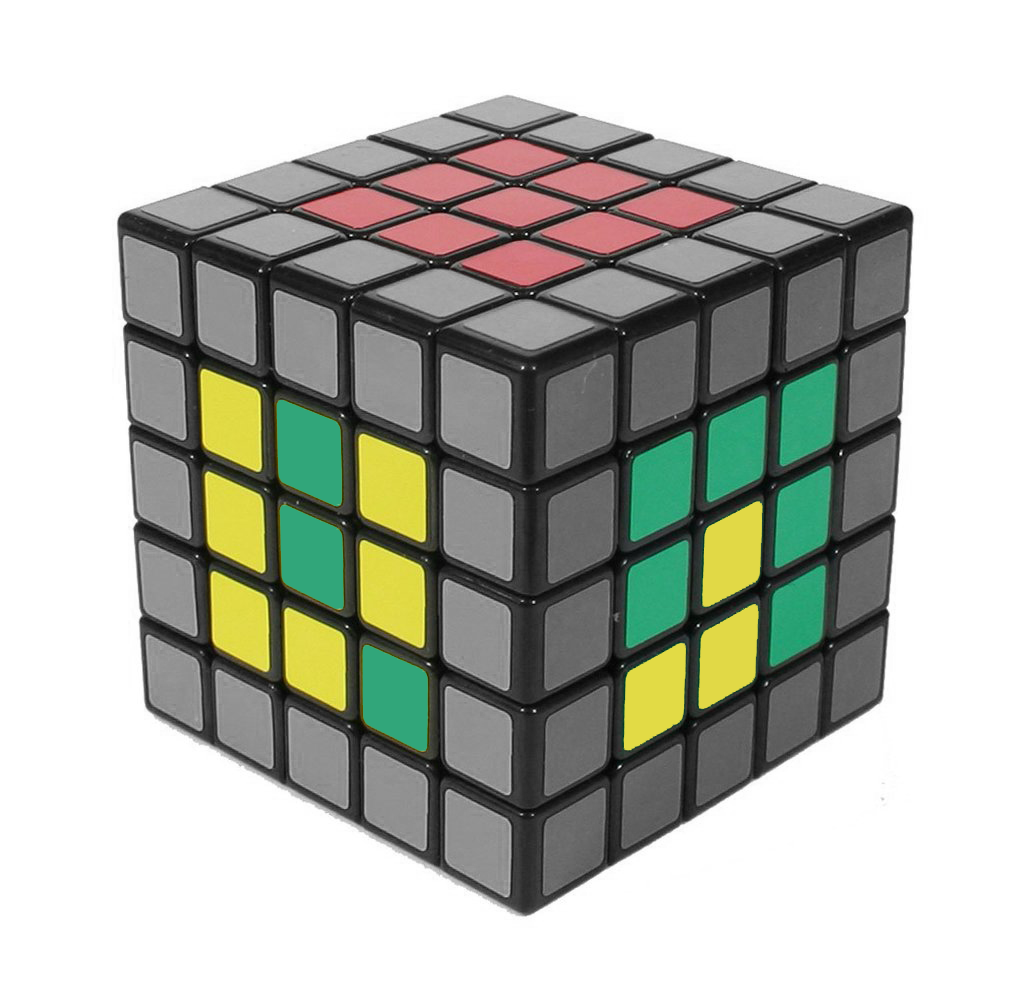 How to solve a 5x5 - Last 2 Centres