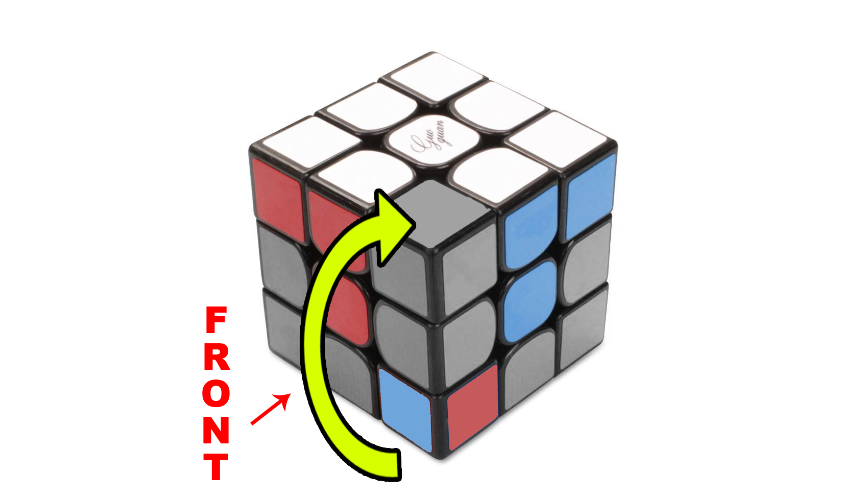 How to solve a Rubik's 3x3 - Step 2 - The Corners - Step 2c