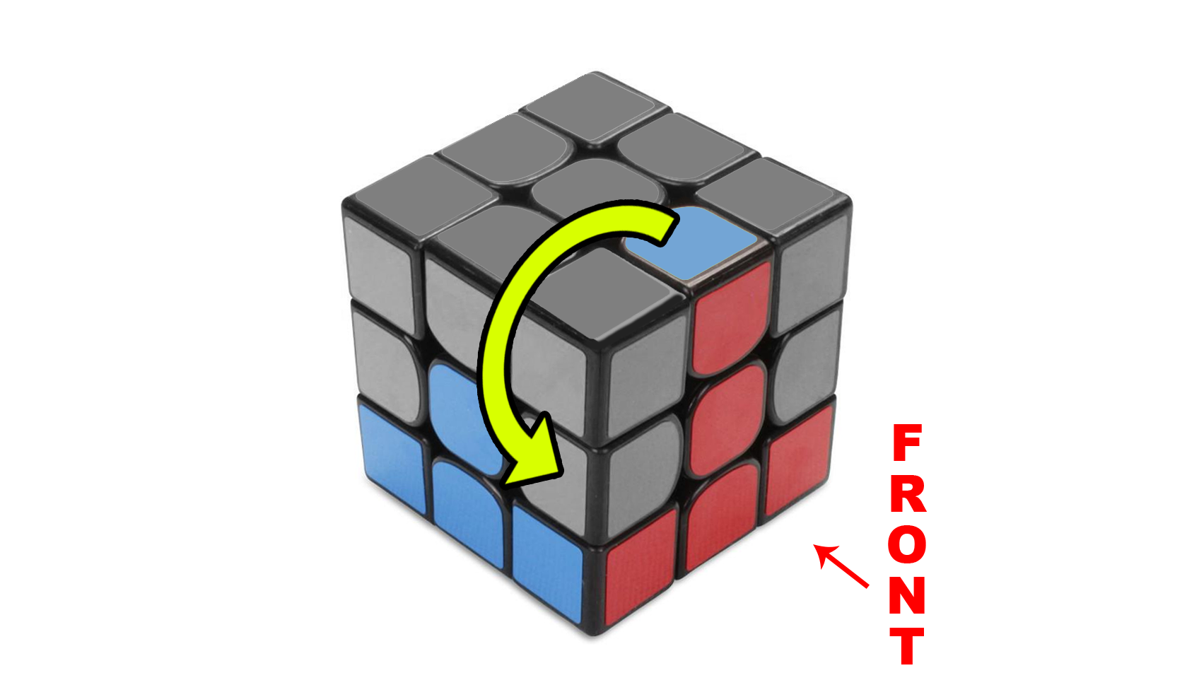 How to solve a Rubik's 3x3 - Step 3 - The Second Layer - Step 3a