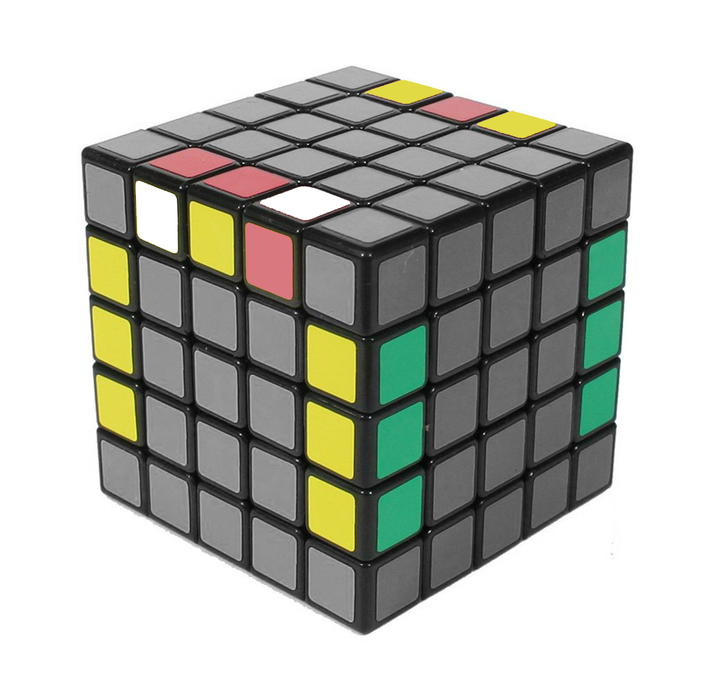 How to solve a 5x5 - Last 2 Edges