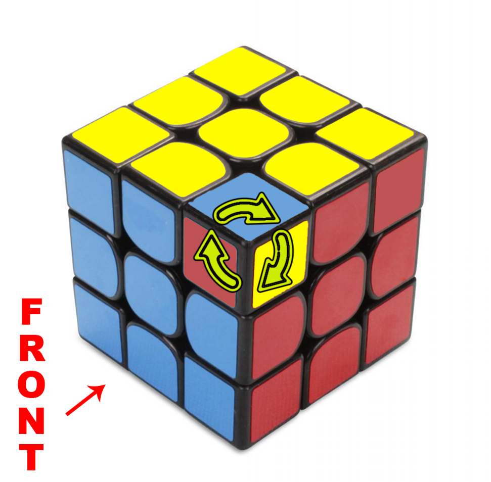 How to solve a Rubik's 3x3 - Step 6 - The Final Layer - Step 6c