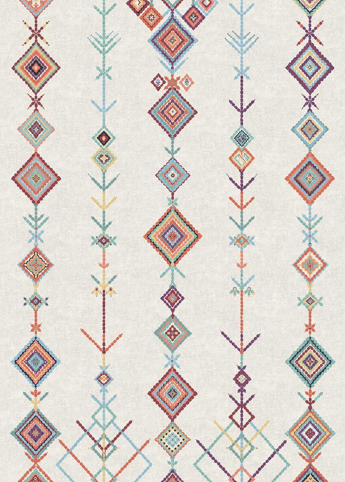Moroccan Rug - Kenza Polychrome