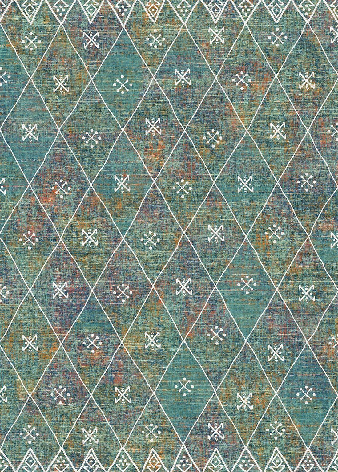 Moroccan Rug - Kavi Polychrome