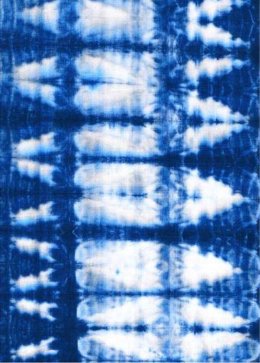 Blue Rug - Shibori Indigo Ichi