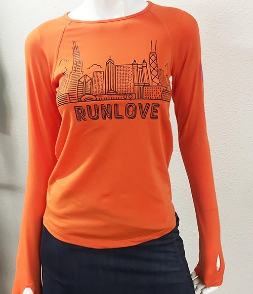 Mandarin Urban Run Love Long Sleeve