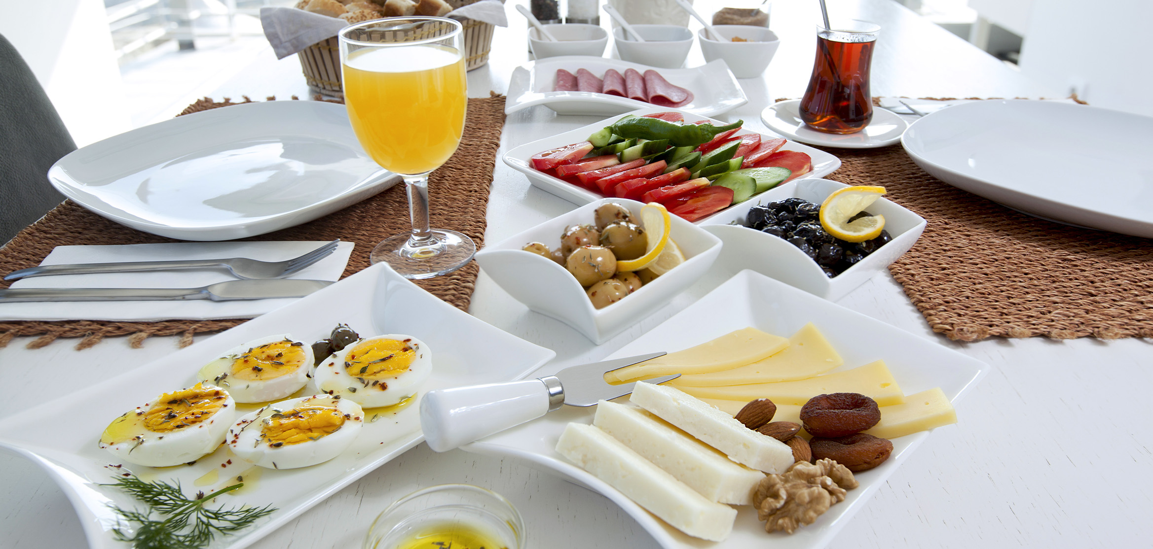 Turkish Breakfast & Turkish Tea