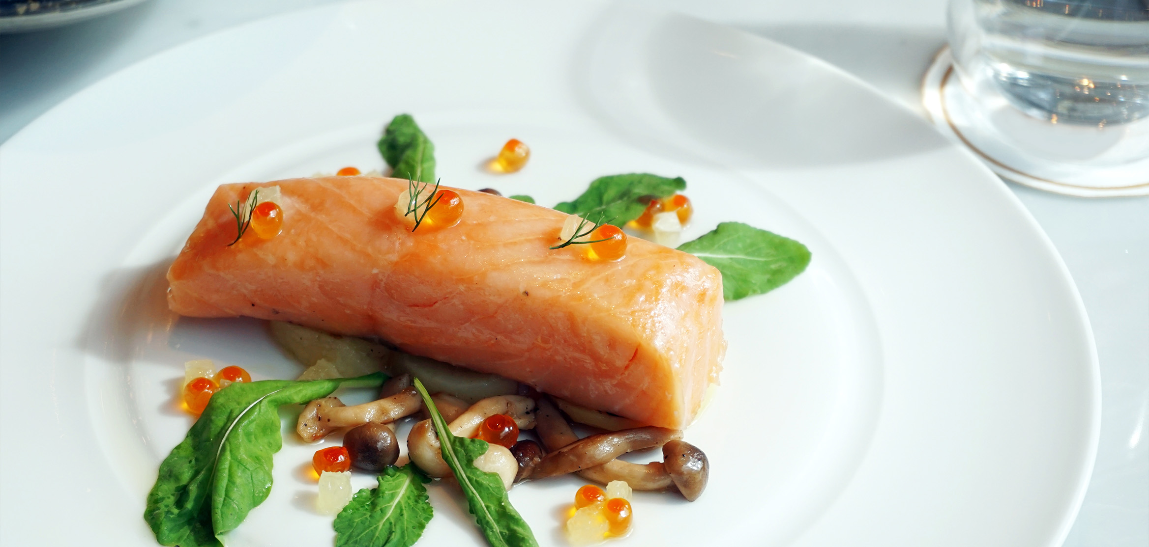 Ingredients for Sous Vide Salmon