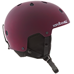 Sandbox Legend Snow Helmet Burgundy
