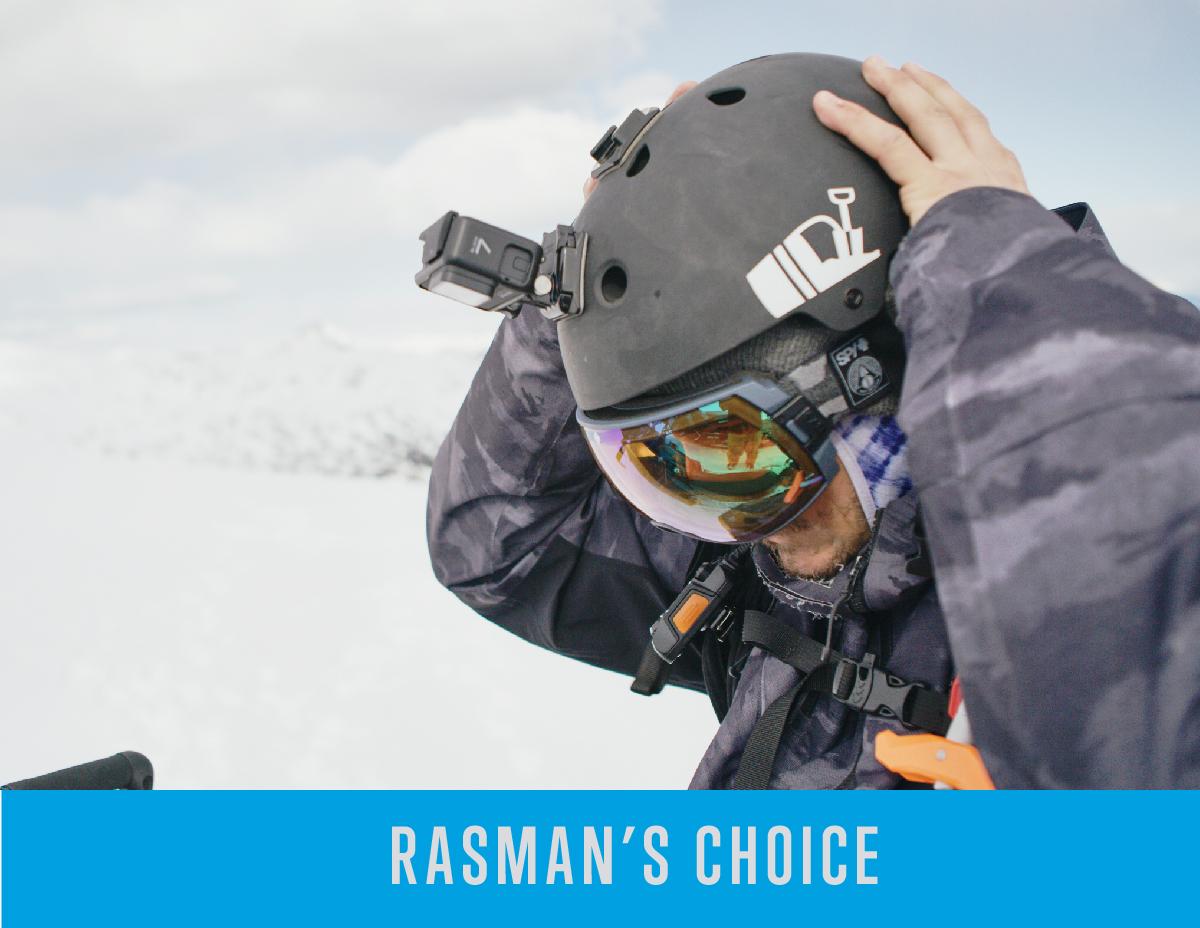 Chris Rasman's Helmet Choice