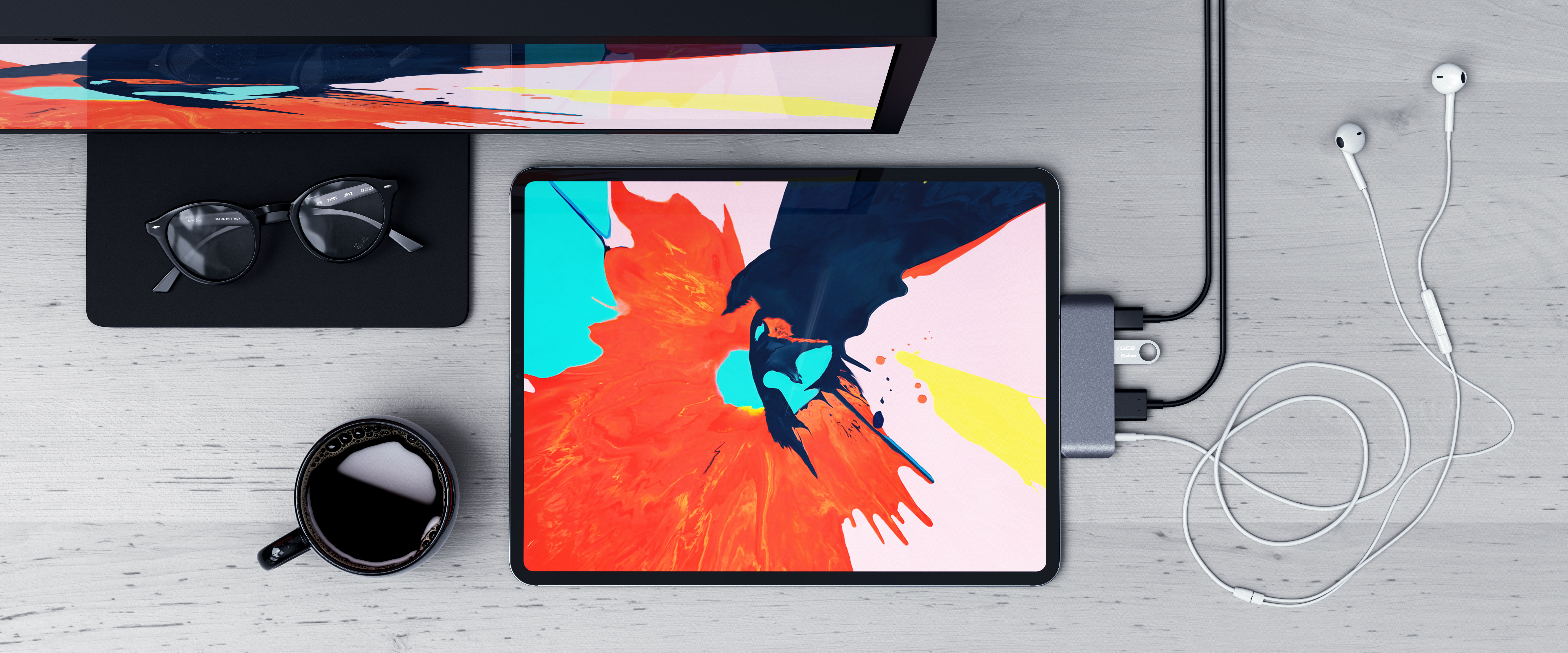 Best Satechi Products For The 2018 iPad Pro USB-C