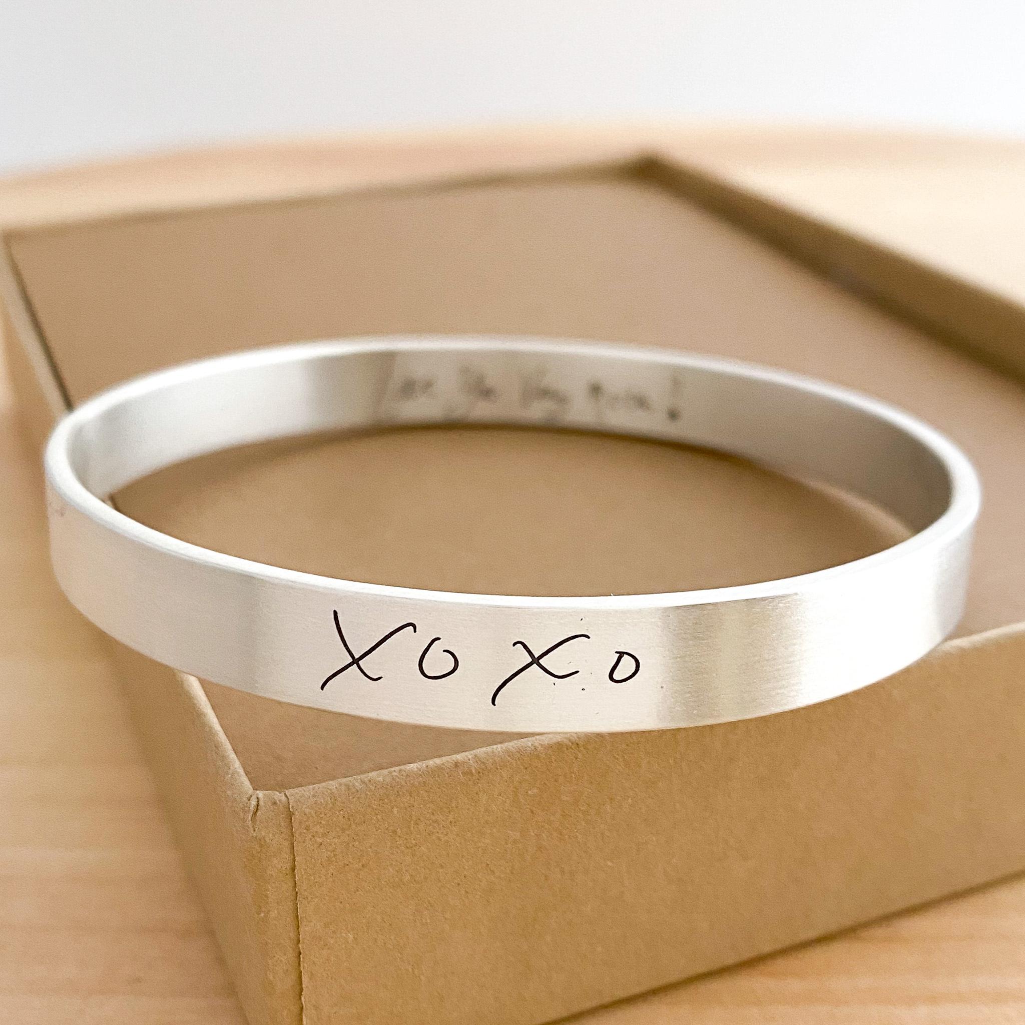 Custom Bracelets from Scripted Jewelry